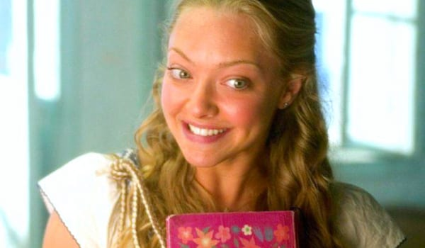 mama mia, amanda seyfried, school, books, smart, blond, quiz, juju