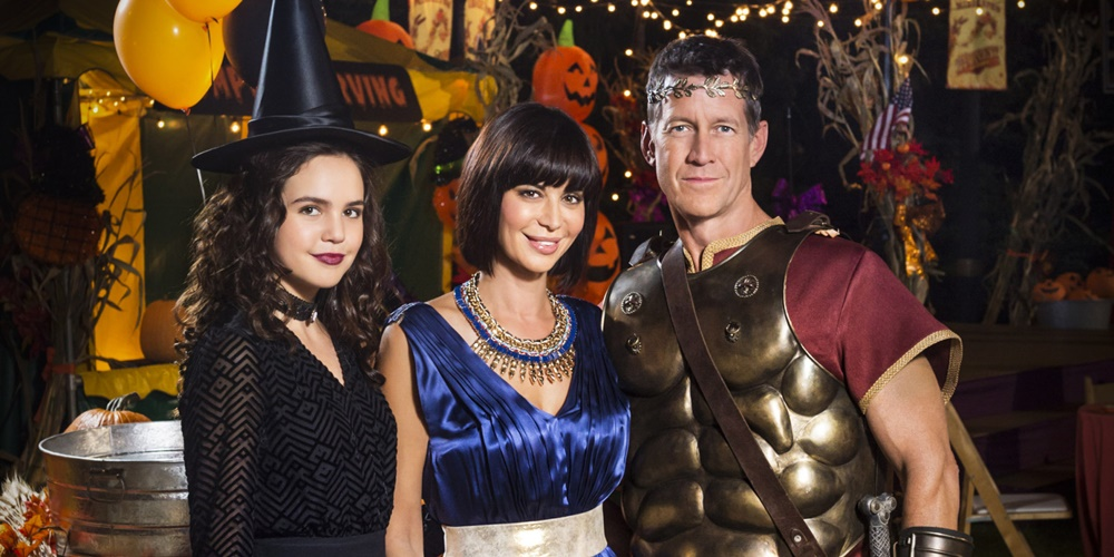 Cast of Good Witch wearing Halloween costumes., movies/tv, pop culture, wdc-slideshow