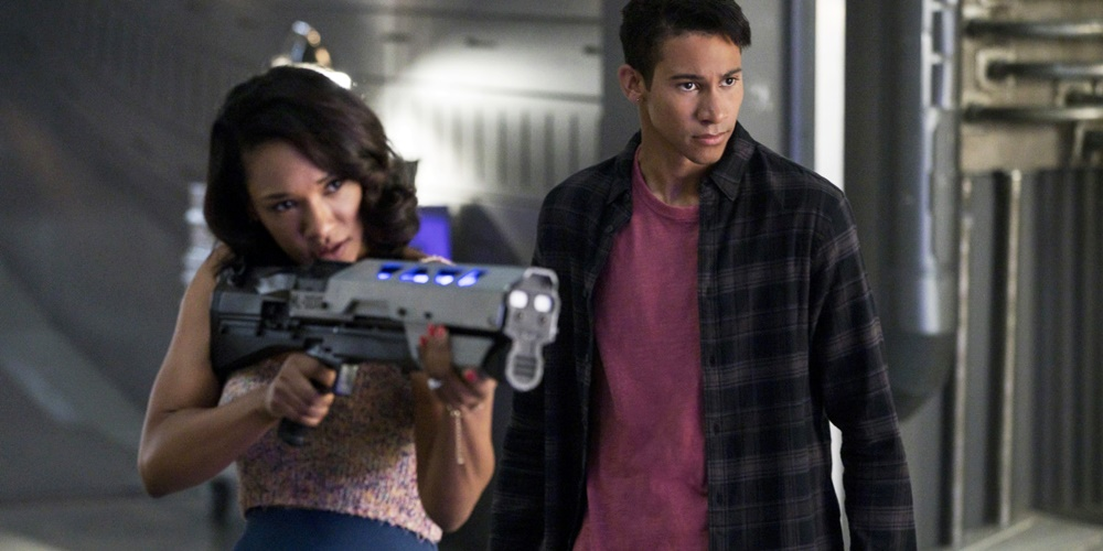 Iris and Wally from The Flash., movies/tv, pop culture, wdc-slideshow