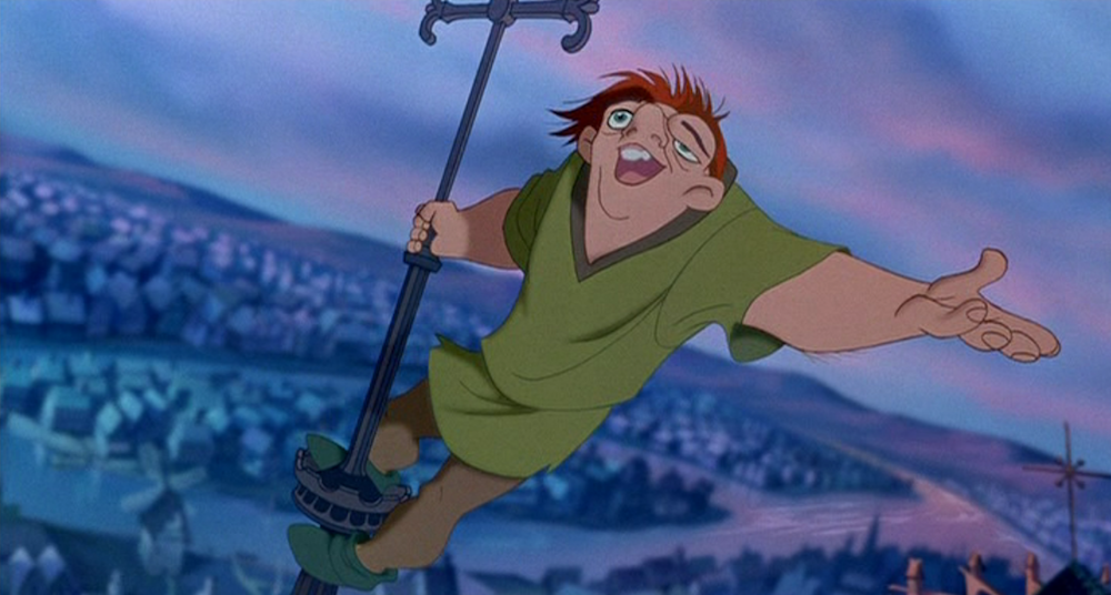 movies/tv, Disney, the hunchback of notre dame, out there song