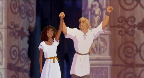 movies/tv, Disney, the hunchback of notre dame, end scene