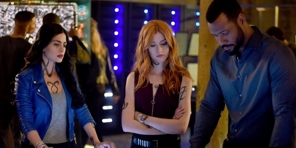 izzy, Clary, and Luke from Shadowhunters., movies/tv, pop culture, wdc-slideshow