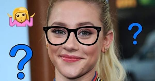 Lili Reinhart, riverdale, glasses, quiz, smart, blond