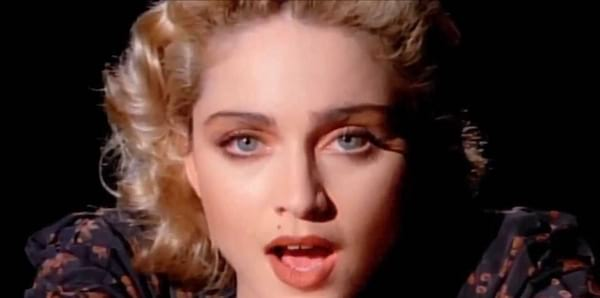 Madonna in \Live to Tell\-music video-red lips-hero-New York, celebs, Music