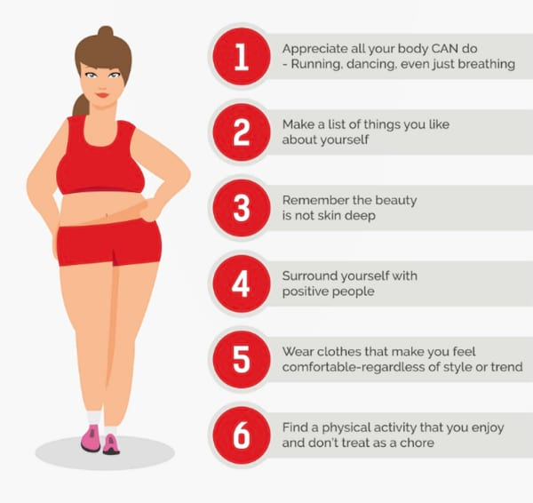 Pure Barre's examples on how to encourage body positivity in women, fitness, health