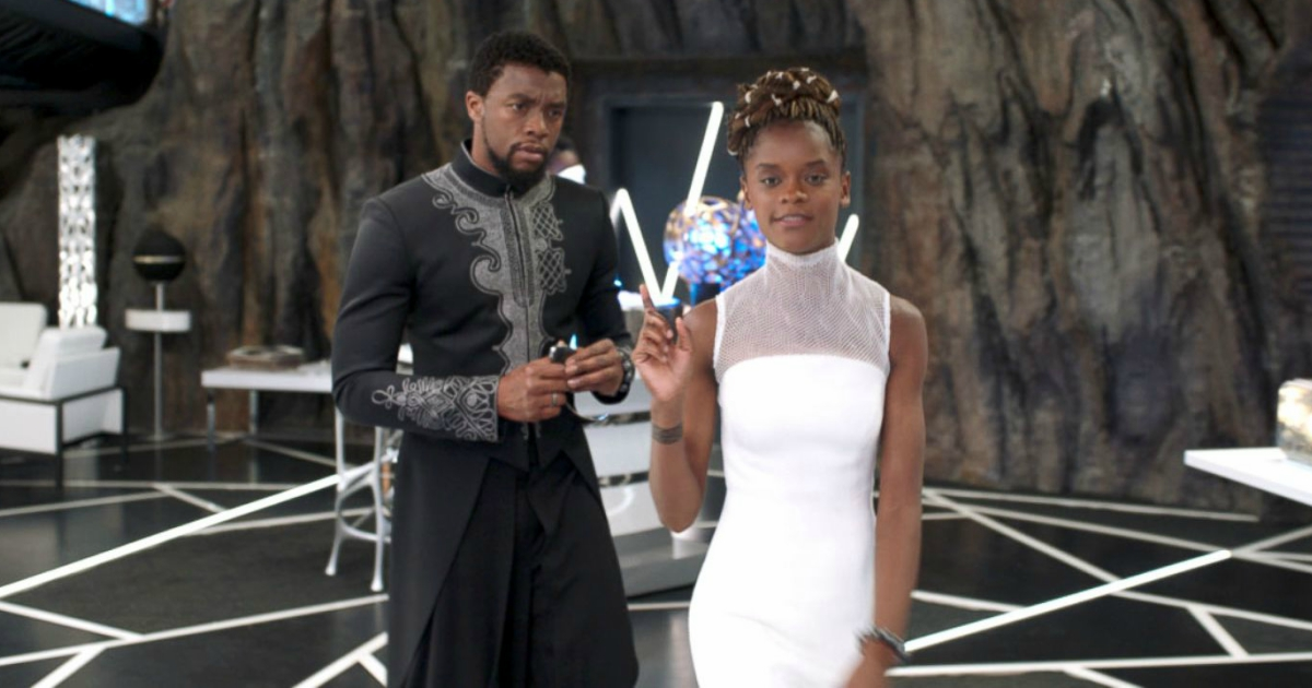 Shuri saying \What are those?!\ to T'Challa in Black Panther