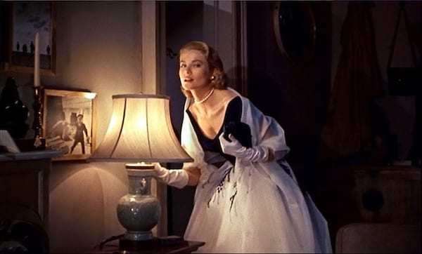movies/tv, celebs, Rear Window, grace kelly, black and white dress