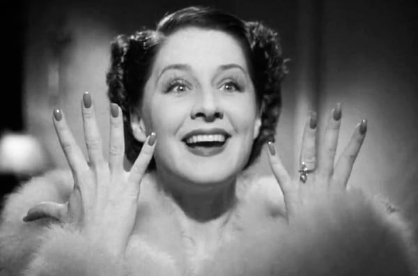 movies/tv, celebs, norma shearer in the women