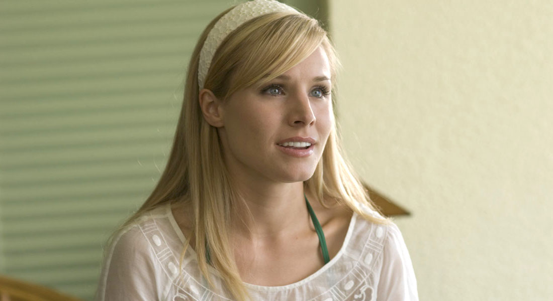 Kristen Bell-Forgetting Sarah Marshall-White headband looking to the side-Midwest-Hero, celebs, movies/tv
