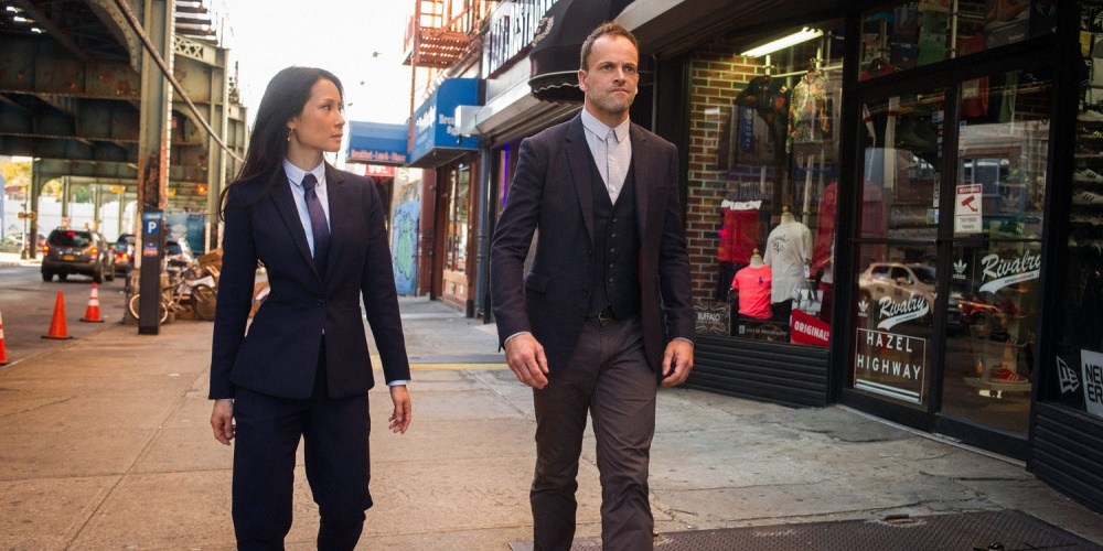 Joan and Sherlock from Elementary., movies/tv, pop culture, wdc-slideshow
