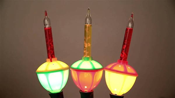 1950s, bubble lights