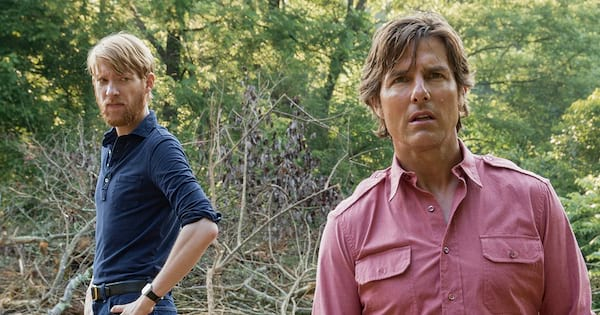 Tom Cruise and Domhnall Gleeson in Universal Pictures' American Made