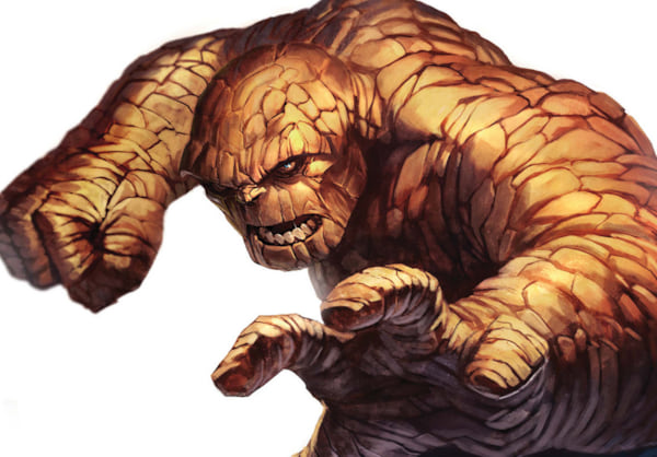 marvel comics, The Thing