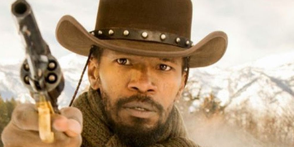 Jamie Foxx, Django Unchained, Western, hero, movies/tv, celebs