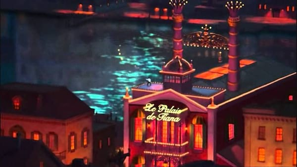 movies/tv, Disney, the princess and the frog, end scene