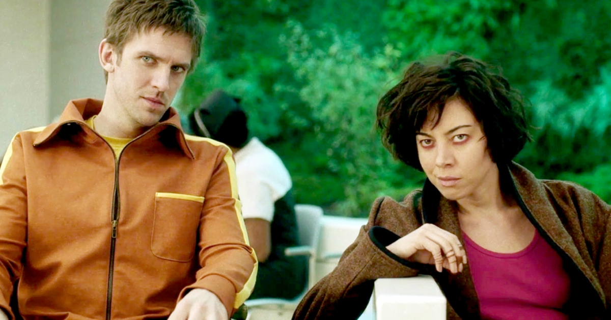 Dan Stevens and Aubrey Plaza in the first season of Legion