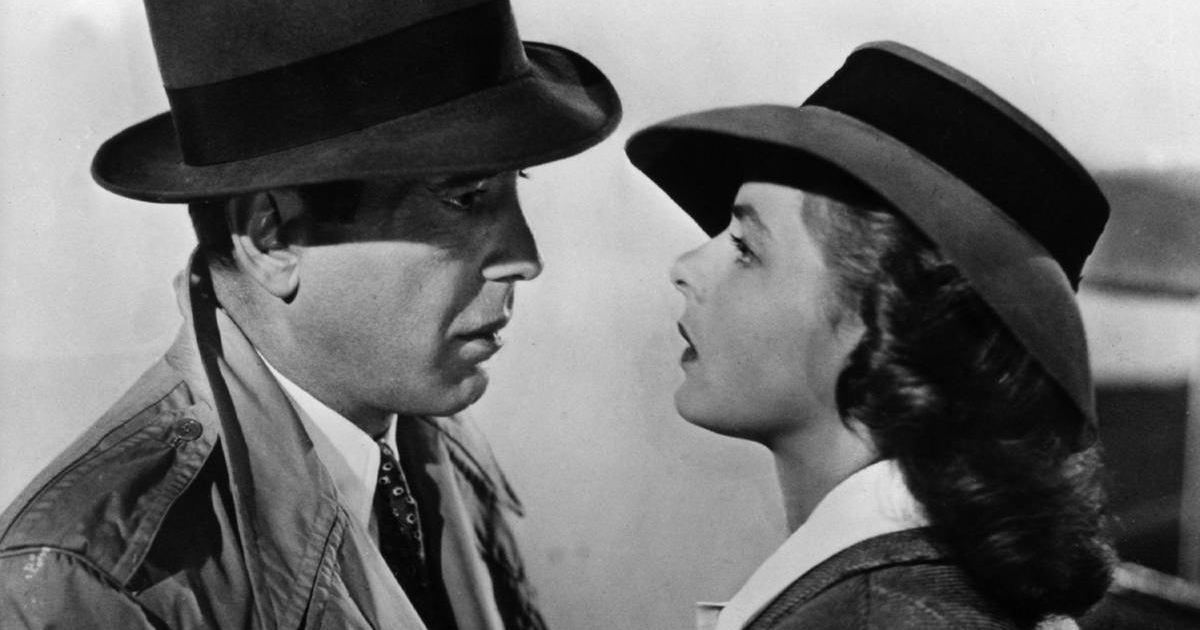 The final scene in Casablanca