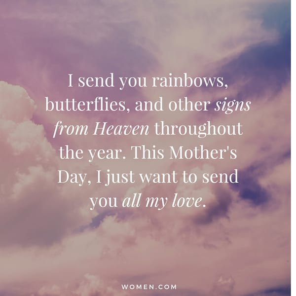 Say Happy Mother\'s Day to Mom in Heaven with These 17 Quotes ...