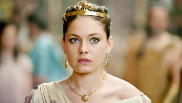movies/tv, clash of the titans, alexa davalos as andromeda, funny face
