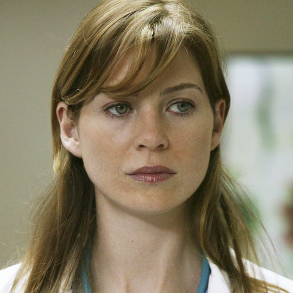Ellen Pompeo Then and Now Meredith Grey, grey's anatomy, young vs old, season 1 vs 14