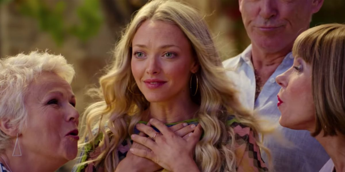 Amanda Seyfried as Sophie Sheridan in Mamma Mia! Here We Go Again