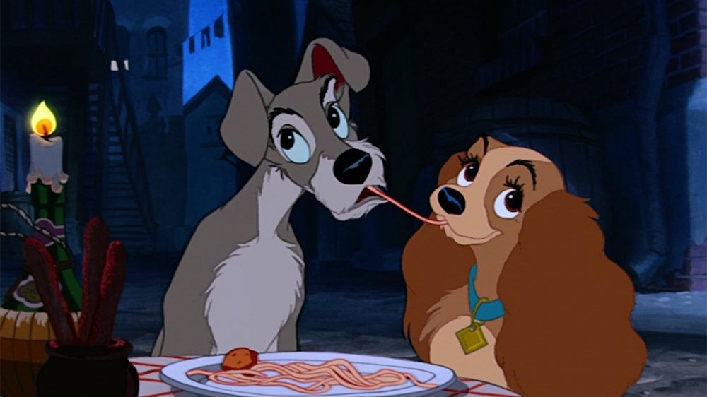 movies/tv, Disney, lady and the tramp