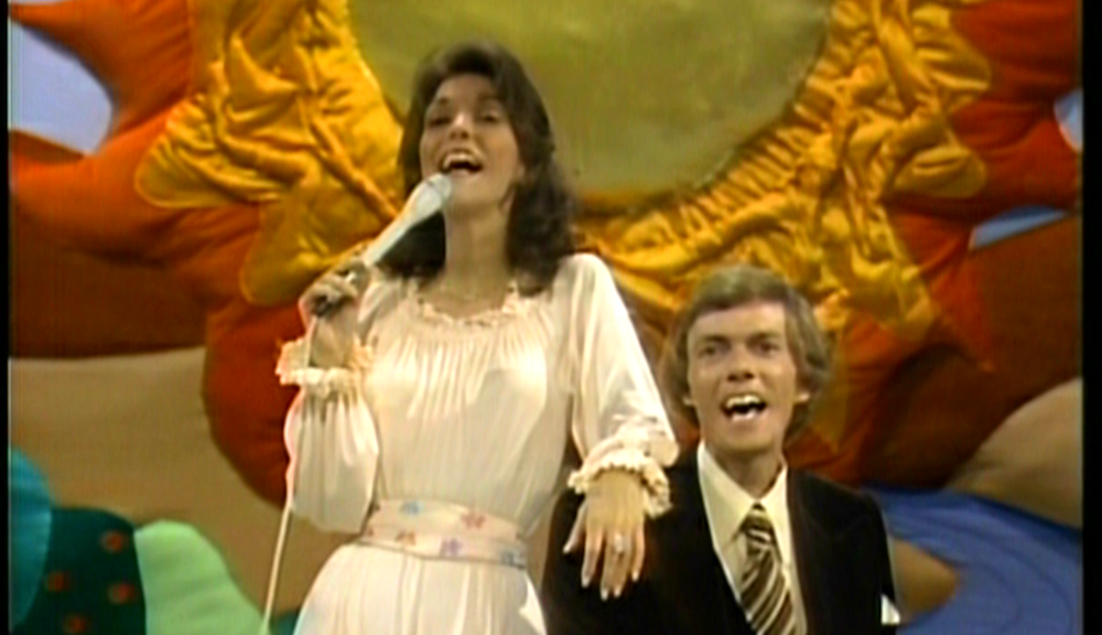 Music, the carpenters, on top of the world song, 70s music