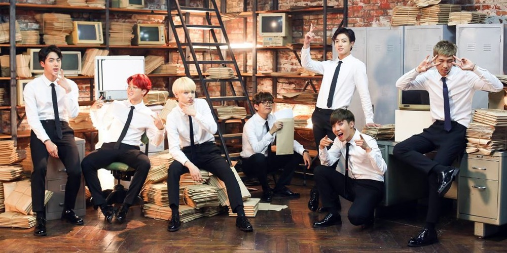 BTS posing in an old school room., science & tech, Music, celebs, wdc-slideshow