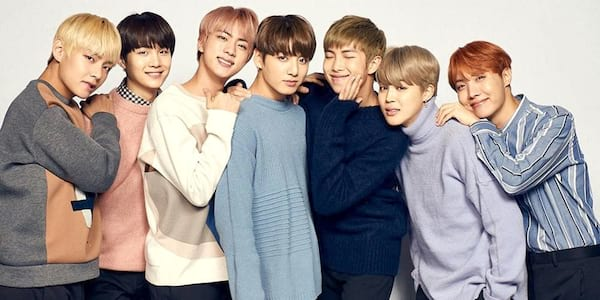 BTS posing together., science & tech, Music, celebs, wdc-slideshow
