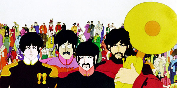 The Yellow Submarine, the Beatles, Lonely Hearts Club Band