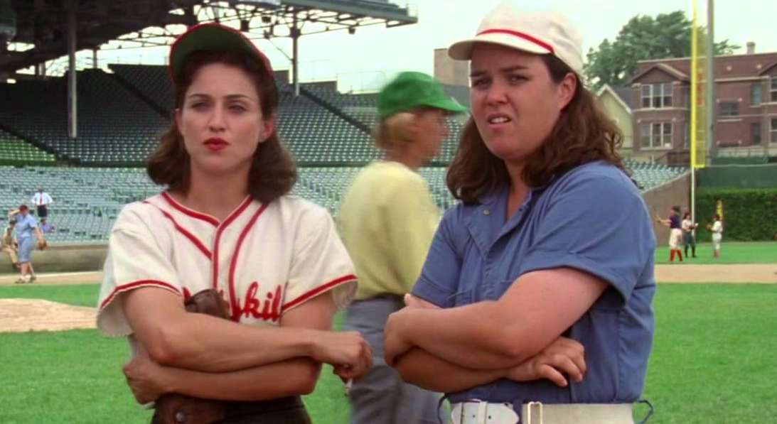 movies/tv, madonna, A League Of Their Own