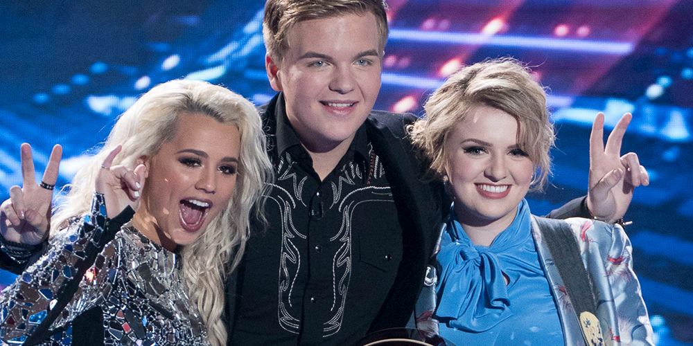 Who won american idol 2018, season 16 winner, gabby barrett, caleb lee hutchinson, maddie poppe