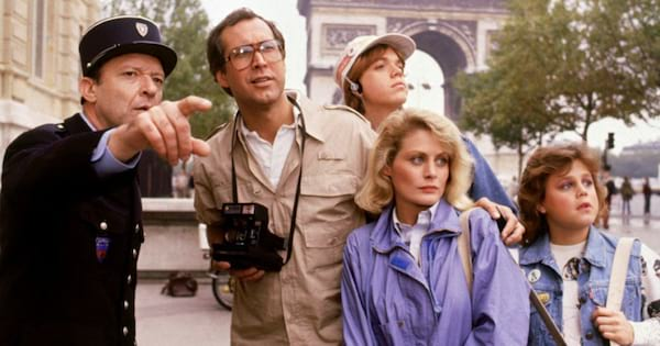 Chevy Chase in National Lampoon's European Vacation