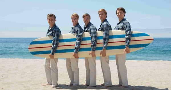 Actors playing The Beach Boys in the documentary Love & Mercy
