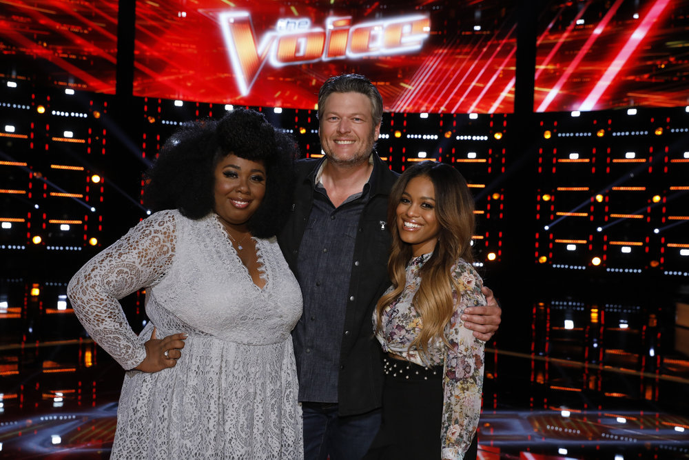 How old is spensha baker on the voice, nbc, finalist 2018