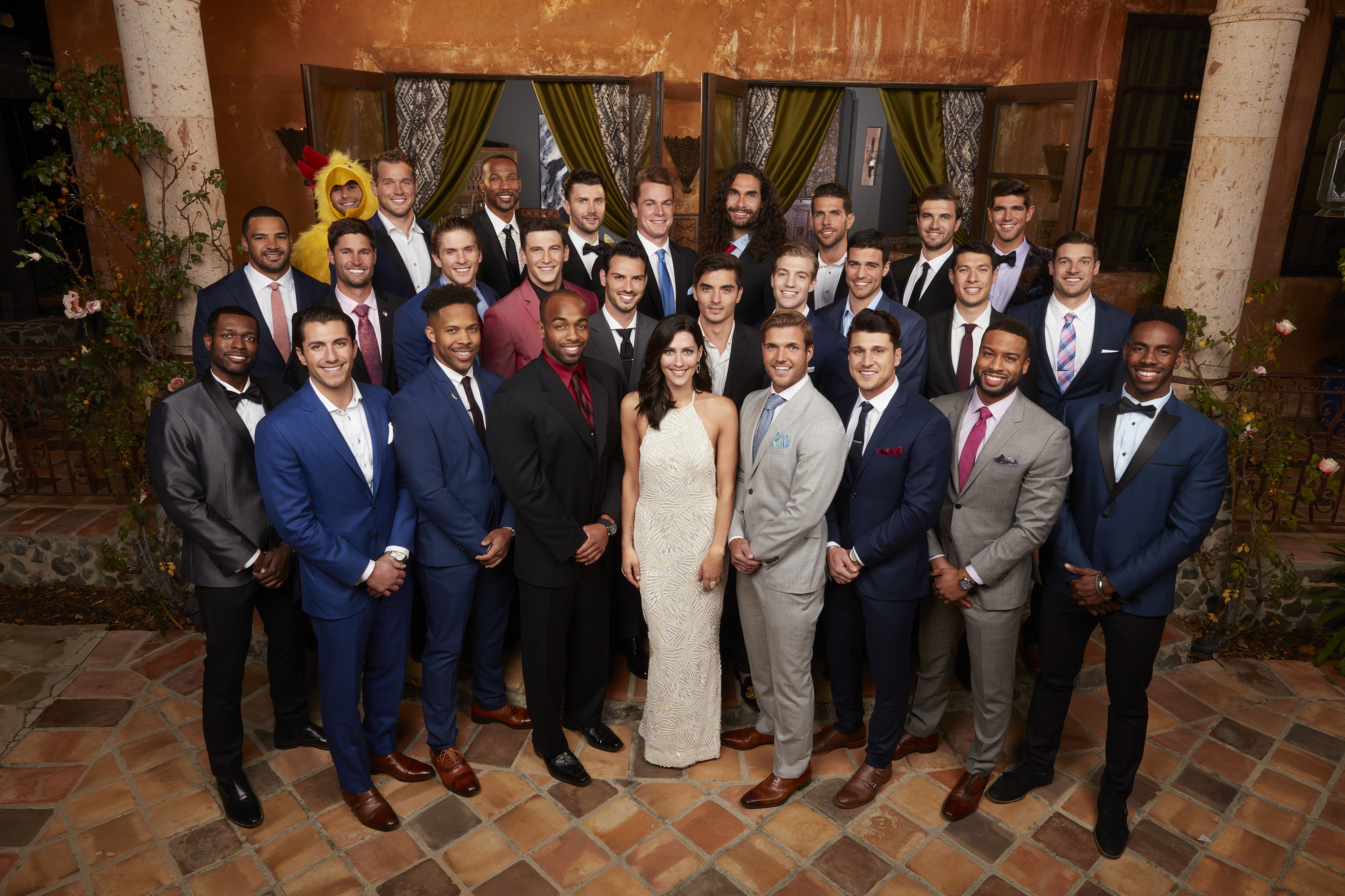 Bachelorette bios 2018, becca k bachelors, group, who went home on the bachelorette last night, kicked off, send home, rose, Premiere