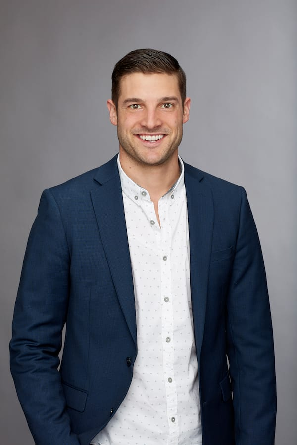 garrett, kicked off, becca kufrin, bios 2018, season 14 contestant, who went home on the bachelorette last night, tonight
