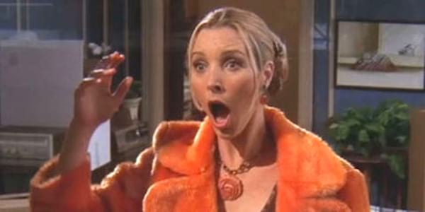 Friends, 90s, shocked, personality, Personality Quiz, juju, phoebe