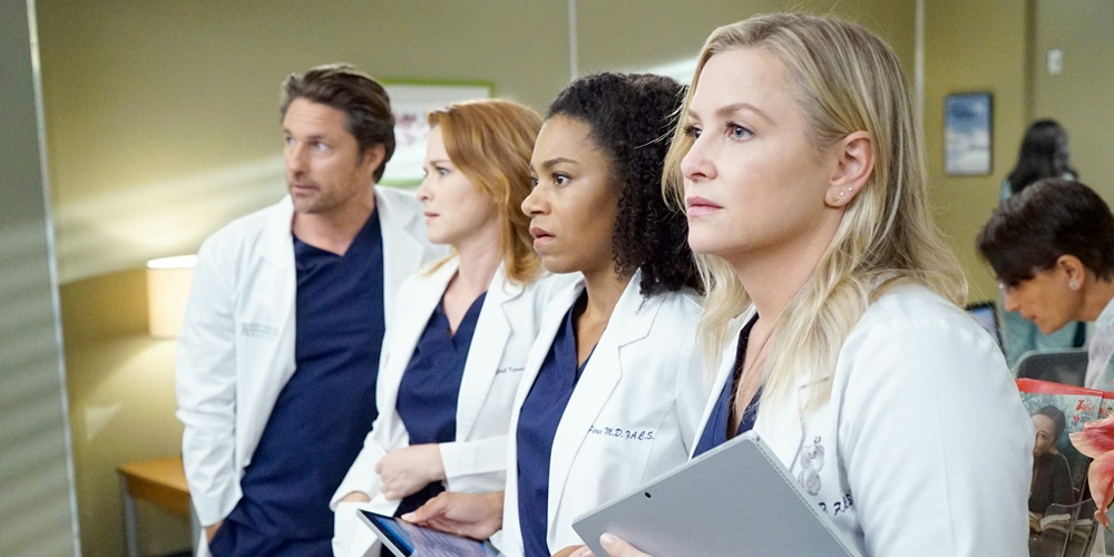 The Cast of Grey's Anatomy., tv, pop culture