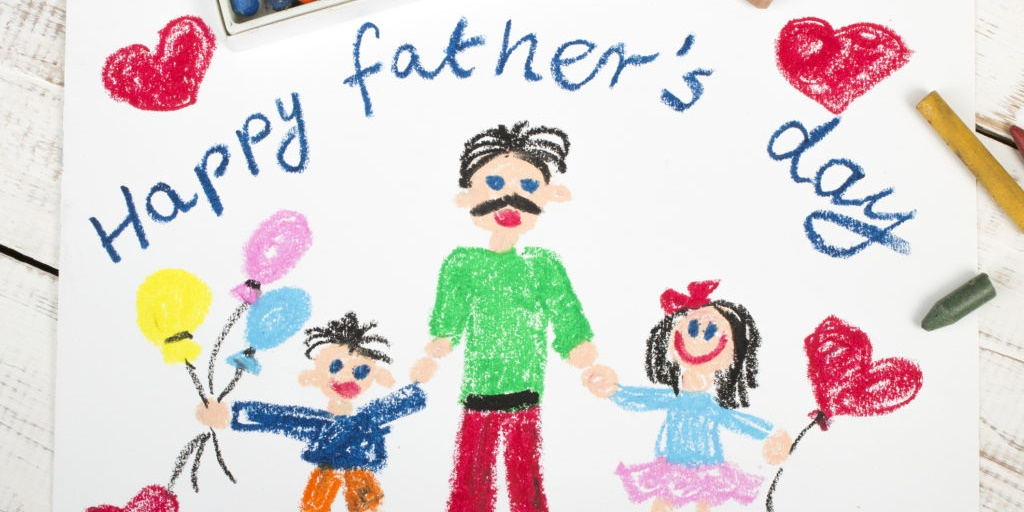 Handmade Father's Day card., science & tech, family