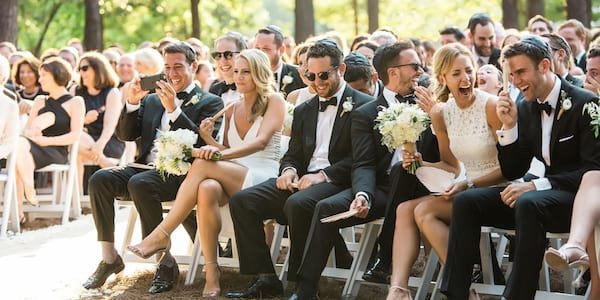 Wedding guests., science & tech, culture