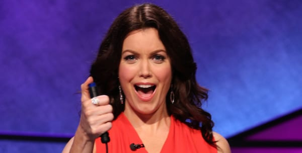 Scandal actress Bellamy Young on Celebrity Jeopardy