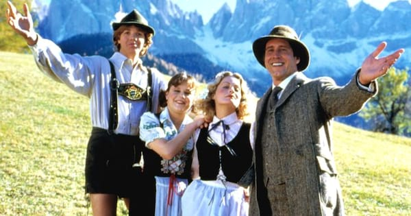 The Griswold family in Switzerland in National Lampoon's European Vacation