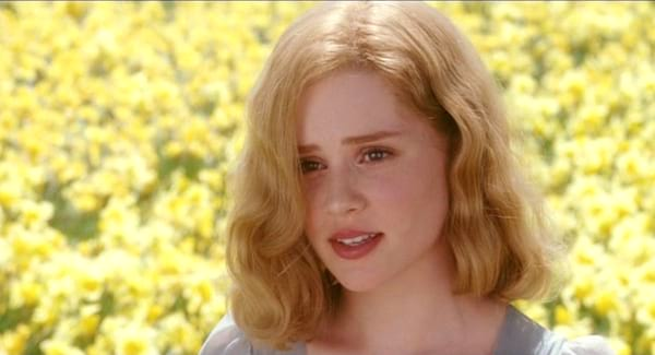 big fish, Alison Lohman, South, Southern, flowers, field, Outdoors, teacher, mom, mother, SoSo