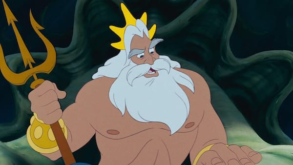 movies, Disney, the little mermaid, king triton