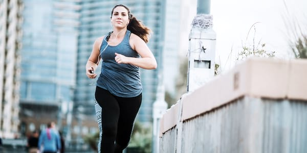 Woman running., science & tech, health, fitness