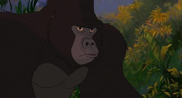 movies, Disney, tarzan, kerchak