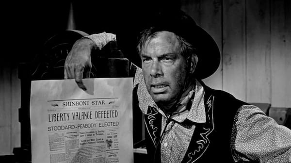 movies, celebs, classic stars, lee marvin, The Man Who Shot Liberty Valance