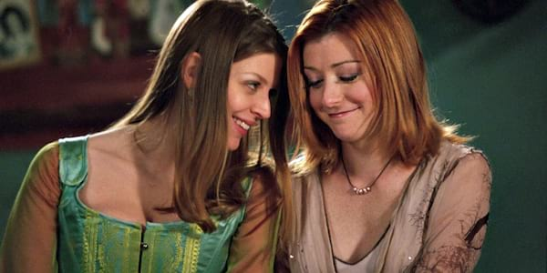 Willow and Tara from Buffy the Vampire Slayer., tv, pop culture
