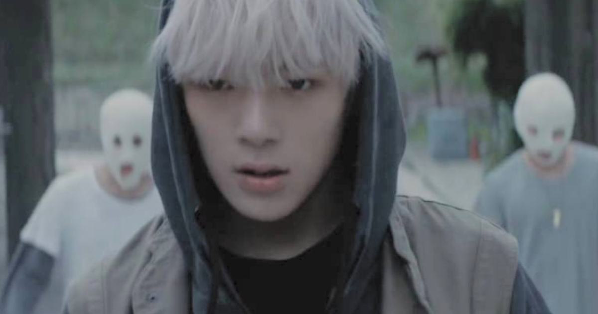 Monsta X's music video for their single \All In\
